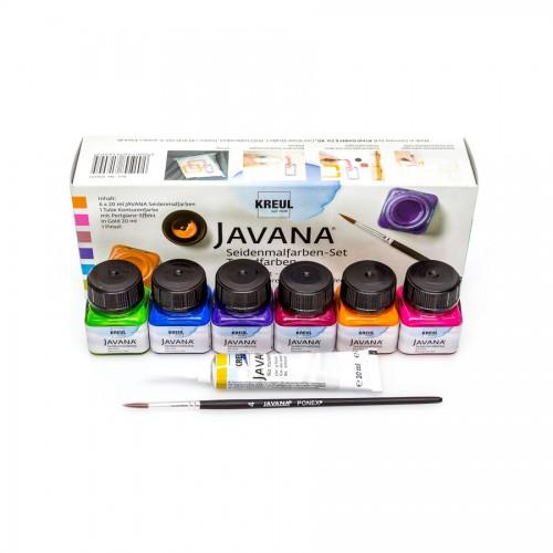 Siidivärvi k-t Javana Trend-Colors 6x20ml C.Kreul
