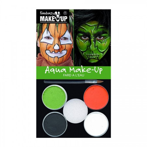 HALLOWEEN Make UP, Näovärvid 4Tk.  Kõrvits
