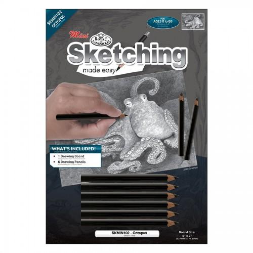 Laste Grafiitpliatsite Komplekt Kaheksajalg