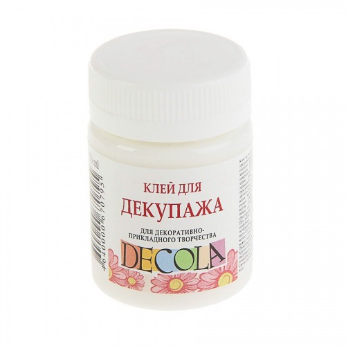 Dekupaaži Liim, 50Ml  Decola