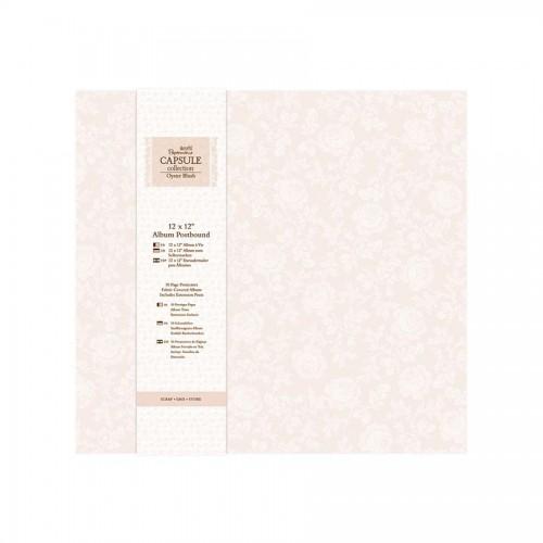 Scrapbookingu  album 30X30 cm -Oyster Blush
