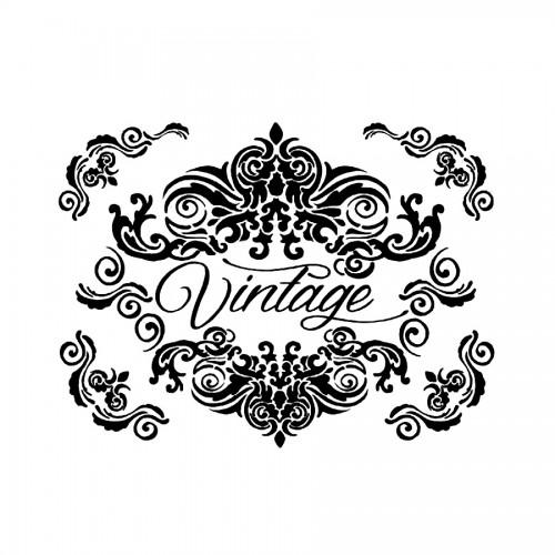 Stencil H Cm 44X60 Vintage