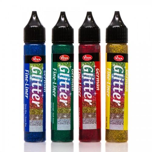 German Glitter 28Ml 4Tk Komplektis - Grading I