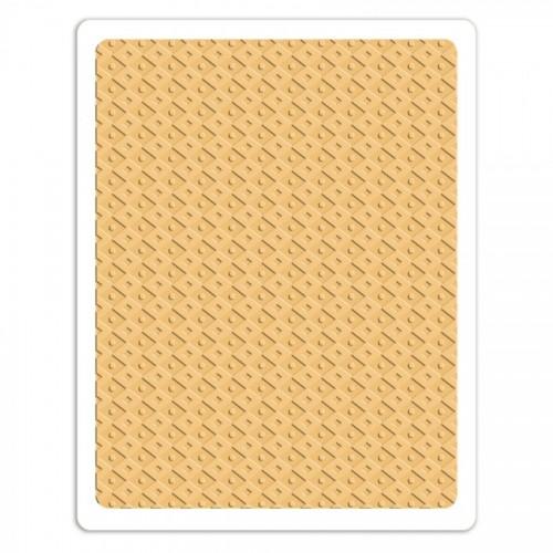 A4 Plus Tekstuurplaat 1 Tk - Field Of Diamonds,