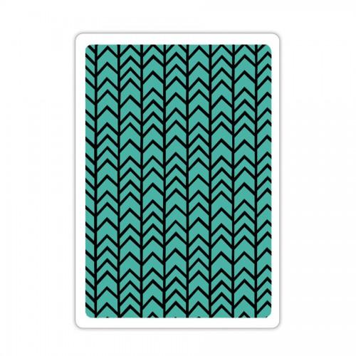 -50% Tekstuurplaat 1 Tk- Chevron Texture
