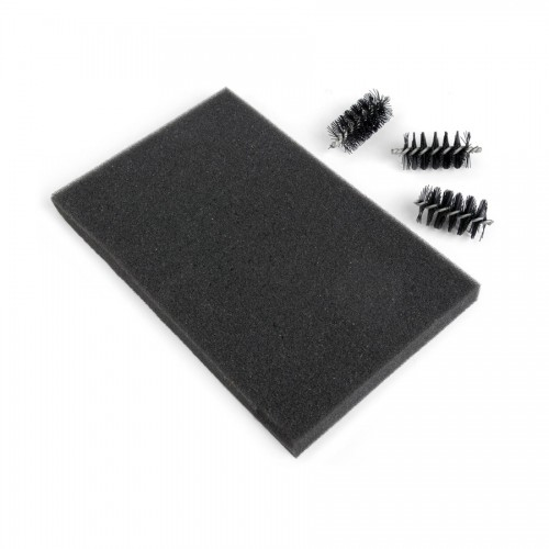 Replacement Die Brush Rollers & Foam Pad For Wafer-Thin Dies
