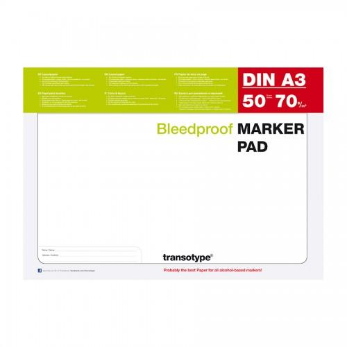 Markerite paberiplokk Copic Marker Pad A3
