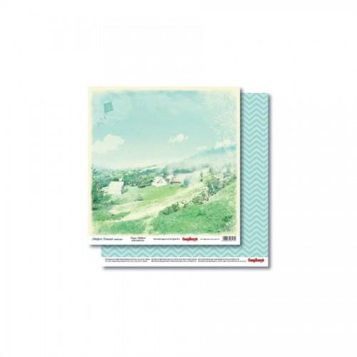 Scrapbookingu paber 30x30 cm-  Mother'S Treasure Happy Childhood 190Gsm