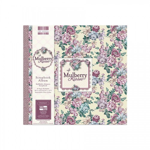 Scrapbookingu  album 30x30 cm - Mulberry Kisses