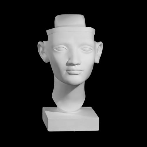 Kipskuju Nofretete Bust (Stiliseeritud)
