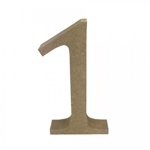 Mdf Number Blank  1
