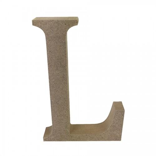 Mdf Letter Blank  L