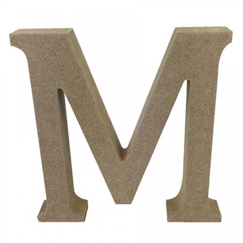Mdf Letter Blank  M