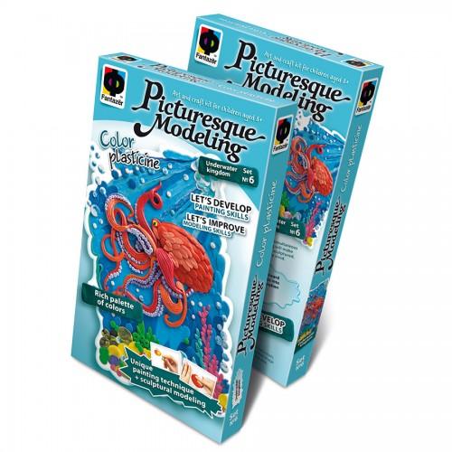 "477056Е Plastiliinist Pilt  ""Underwater Kingdom"""
