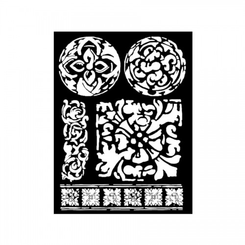 Sabloon  20X25Cm/0,5Mm Texture Majolicas
