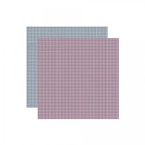 Scrapbookingu Paber 30X30- Texture Pied-De-Poule