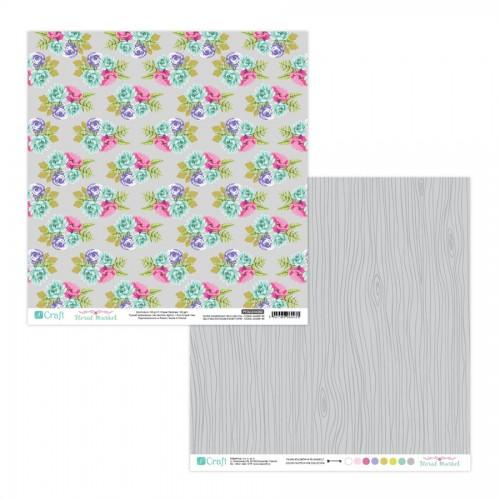 Scrapbookingu Paber 30X30cm - Floral Market