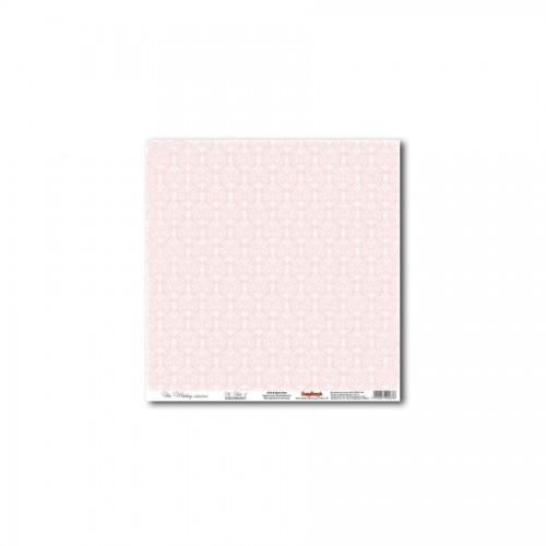 Scrapbookingu paber 30x30 cm-   In Pink 5 180Gsm