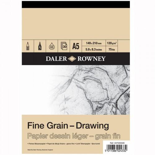 Joonistusplokk A5,30lh, 120g/m  Daler-Rowney