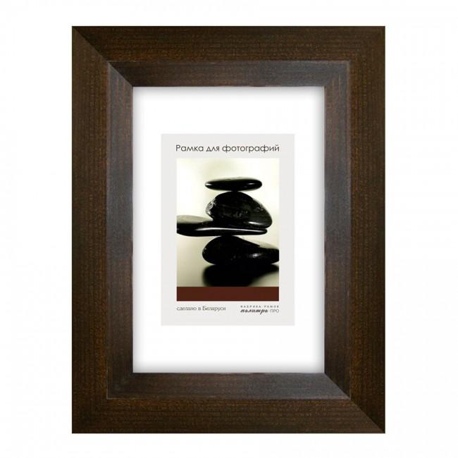 Рамка дерев. со стеклом 10х15 Д34КЛ/1824 (венге)