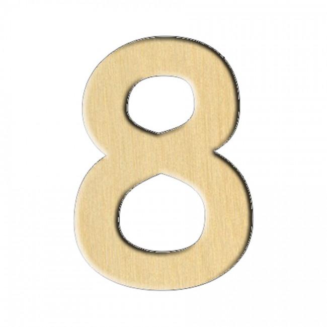 "Заготовка Дер. 118 ""Цифра 8"" 2,1Х3 См"