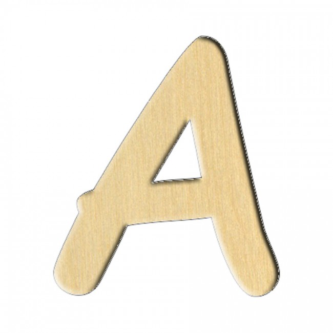 "Заготовка Дер. 223 ""Буква A (Анг.)"" 6,1Х7 См"