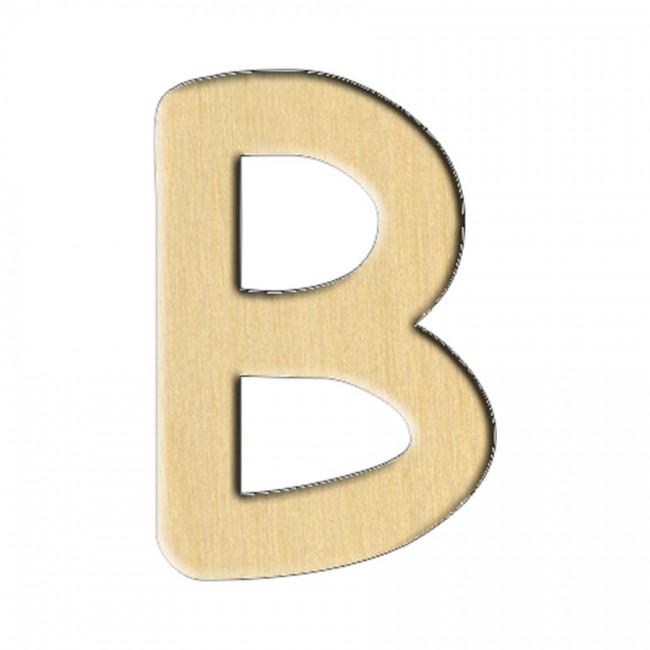 """Заготовка Дер. 224 """"Буква B (Анг.)"""" 4,7Х7 См"""