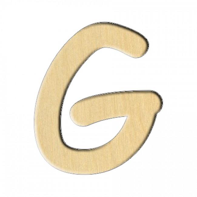 "Заготовка Дер. 229 ""Буква G (Анг.)"" 5,8Х7 См"