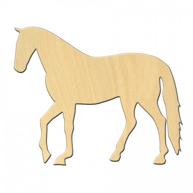 """Заготовка Дер. 471 """"Лошадь"""" 11*9 См"""