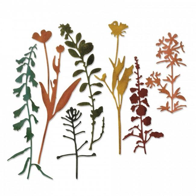 Формы Для Вырубки Thinlits Wildflowers #2