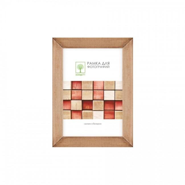 Рамка дерев. со стеклом 13х18 Д18К/4265 (орех)