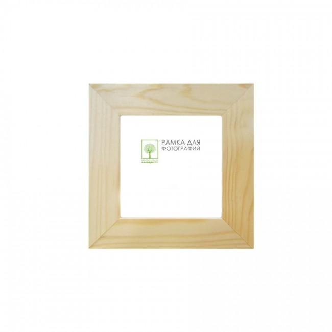 Рамка дерев. со стеклом 40х40 Д30С