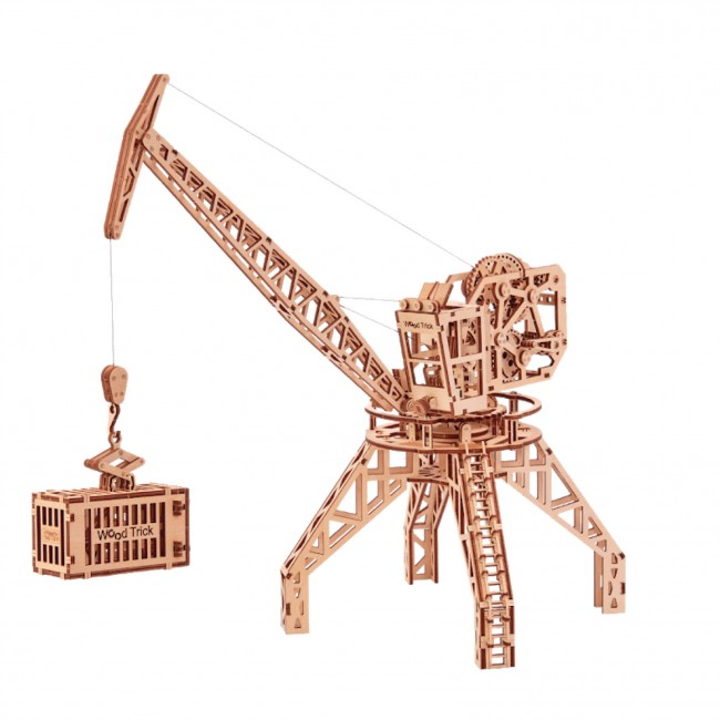 Souvenir and collectible model «Crane with contain