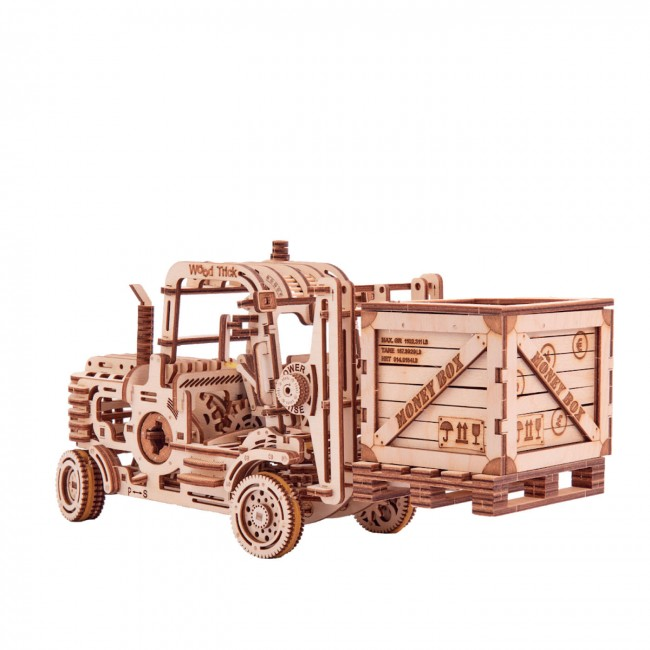 Souvenir and collectible model «Forklift»