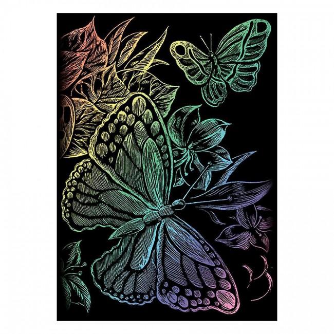 Гравюра Бабочки