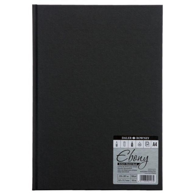 Эскизный блок А4 Ebony62л,150г/м