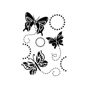 Шаблон G  21x29,7 Butterflies