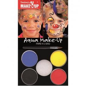 Набор красок для макияжа Aqua Make Up 4цв