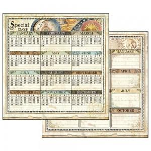 Double Face Paper Alchemy Calendar