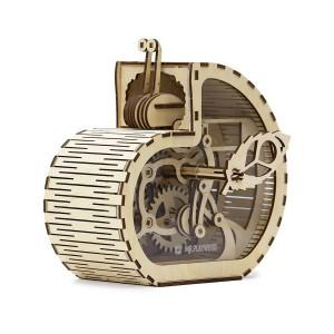 Конструктор из дерева, модель Улитка – копилка