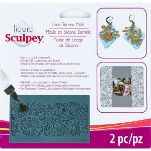 Scupley Silicone Bakeable Mold -- Lace - NEW!