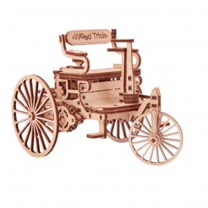 Souvenir and collectible model «First car»
