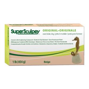 Полимерная Глина Super Sculpey  450Гр