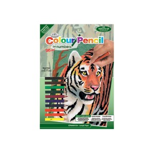 Рисование По Номерам  Тигр