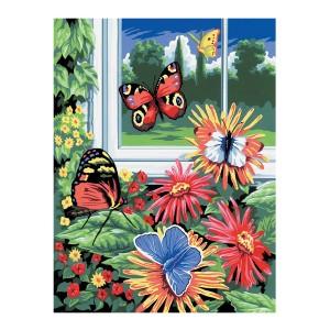 """Рисование По Номерам """"Бабочки"""""""