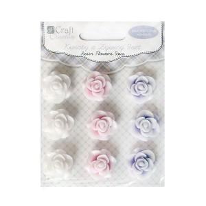 Цветы Из Пластики 2См,9Шт.Dalprint