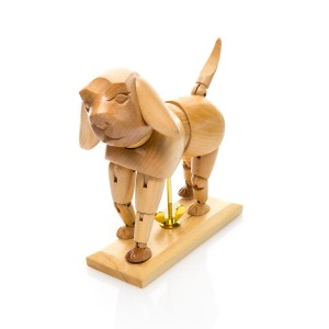 Манекен Деревянный  (Собака)