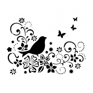 Linnud A4  Viva Decor