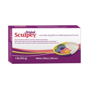 Original Sculpey White 450Gr