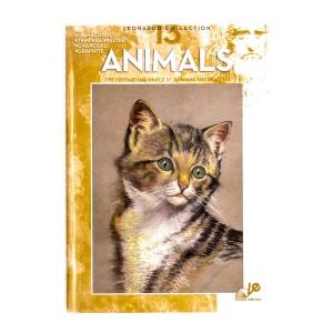 """Книги """"Коллекция Леонардо"""", Nr.13 """"Животные"""""""